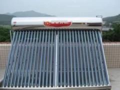 你家的太阳能热水器有多久没洗了